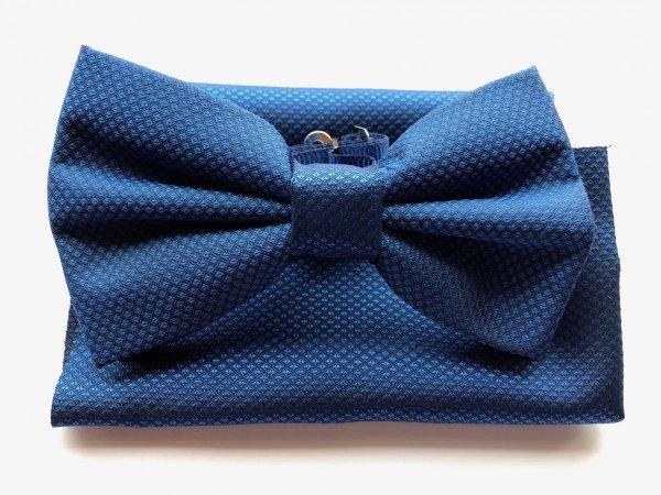 Papillon con pochette - azzurro - Gogolfun.it