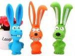 Zabawka dla psa gryzak gumowy królik