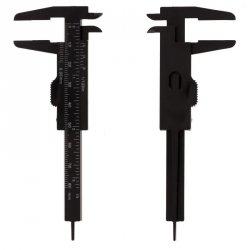 Suwmiarka do brwi czarna 0-8 cm
