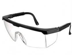 Okulary ochronne gogle bezbarwne akcesoria do NERF