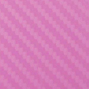 Folia odcinek carbon 3D różowa 1,27x0,1m