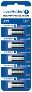 Bateria everActive Alkaline 23A blister 5szt.