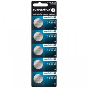 Bateria everActive litowa CR2032 blister 5szt.