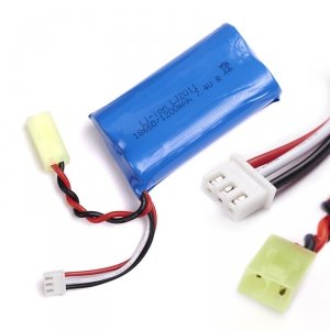 Część mini-tamiya akumulator 7,4V 18650 1200mAh