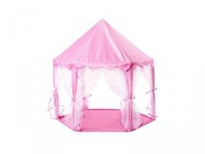 Namiot dla dzieci pałac do zabawy różowy