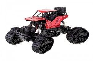 Samochód RC Rock Crawler 4x4 LHC012 auto 2w1 czerwony