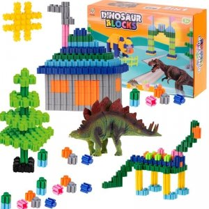 Klocki przestrzenne Dinosaur Blocks 290el