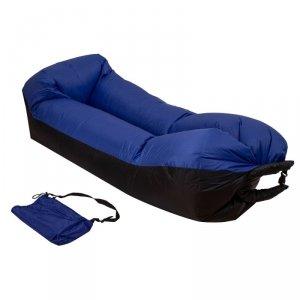Lazy BAG SOFA łóżko dmuchane leżak 3 gen niebieska