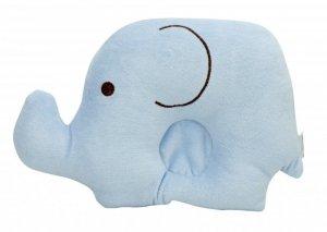 Poduszka dla niemowląt słoń 18,5cm x 25cm niebiesk