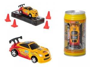 Samochód RC puszka mini 9020b 2,4GHz żółty