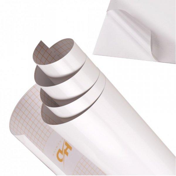 Folia rolka połysk biała 1,52x30m