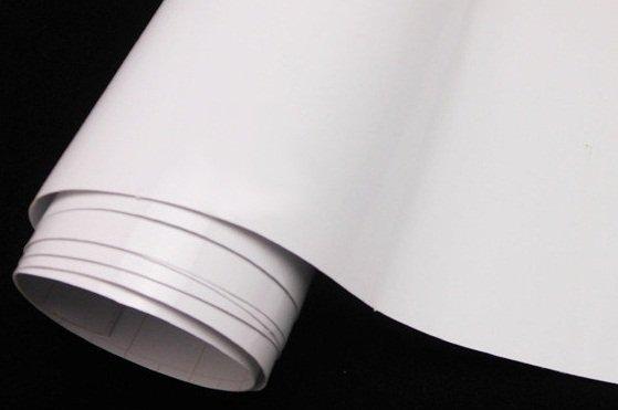 Folia rolka matowa gładka biała 1,52x28m