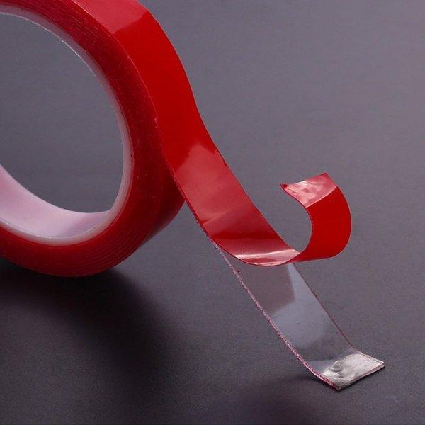 Taśma akrylowa dwustronna montażowa transparentna mocna  30mmx3m