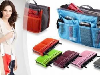 Organizer do torebki kosmetyczka kolory