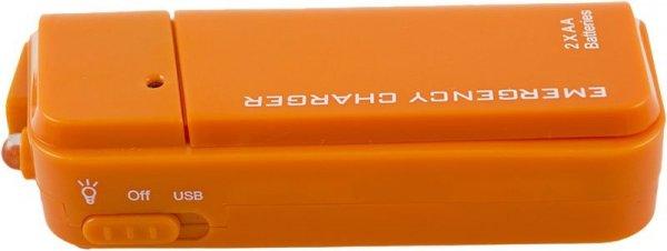 Awaryjna ładowarka USB na baterie AA