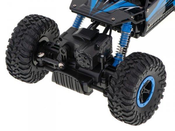 Samochód RC Rock Crawler HB 2,4GHz 1:18 niebieski