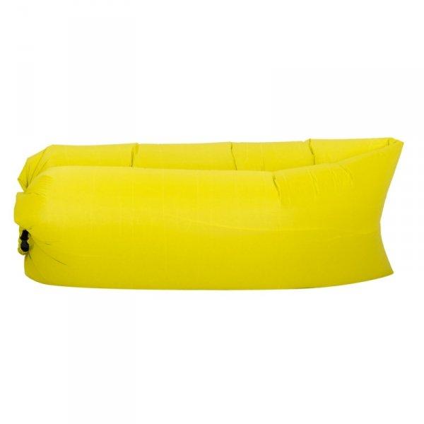 Lazy Bag SOFA materac LEŻAK na POWIETRZE żółty