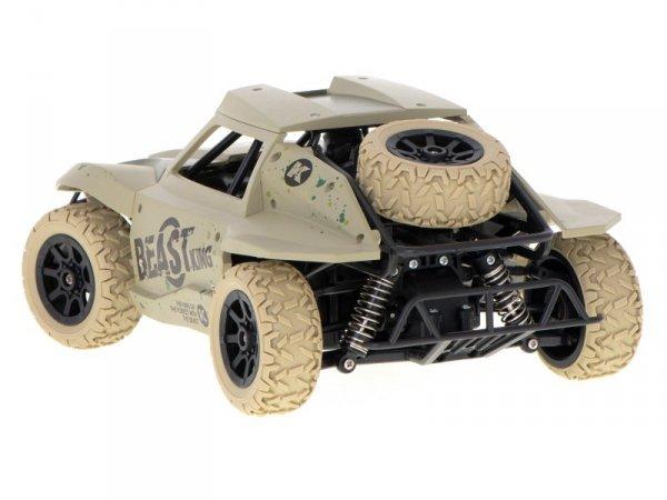 Samochód RC Racing Rally 2.4Ghz 4WD pustynny 1:18