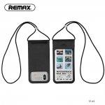 Wodoodporne etui na telefon czarne REMAX RT-W3