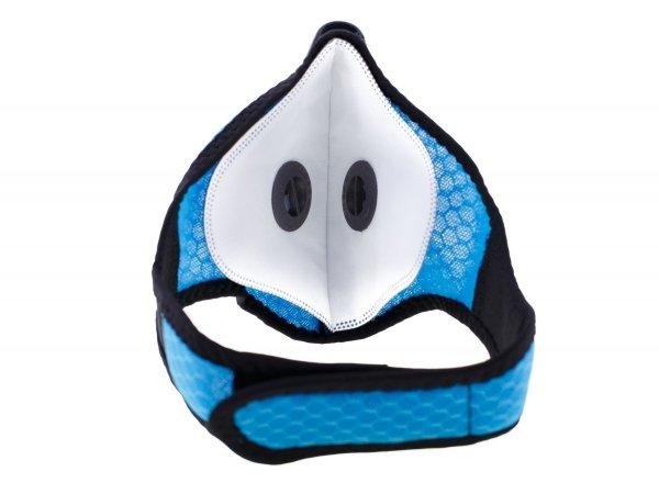 Maseczka do biegania siatkowa ACTIVE niebieska