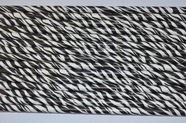 słomki papierowe eko biodegradowalne zebra
