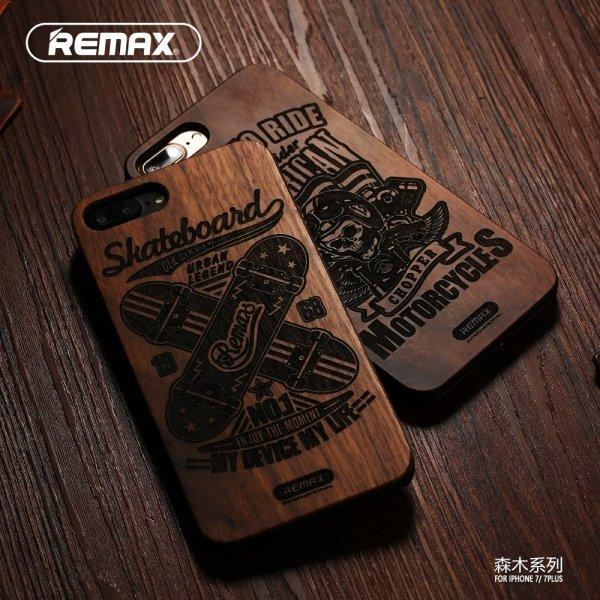 Drewniane etui Senmu Remax  iPhone 7
