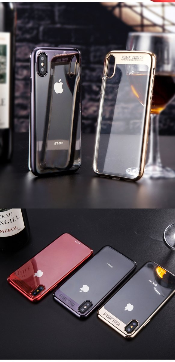 Modi Creative etui Remax złote dla iPhone