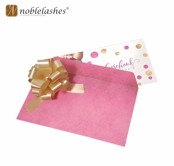 Geschenkkarte mit Gutscheincode
