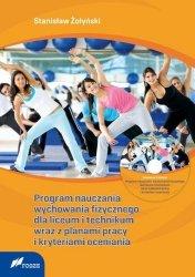 Program nauczania wychowania fizycznego dla liceum i technikum wraz z planami pracy i kryteriami ocen + CD