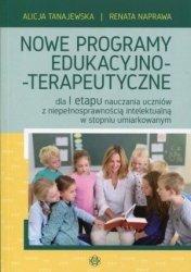 Nowe programy edukacyjno terapeutyczne dla I etapu nauczania uczniów z niepełnosprawnością intelektualną w stopniu umiarkowanym