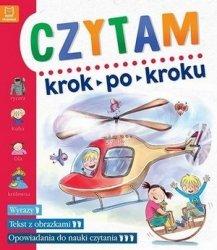Czytam Krok po kroku Dla przedszkolaków Wyrazy Tekst z obrazkami Opowiadania do nauki czytania