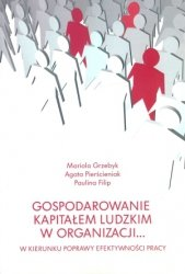 Gospodarowanie kapitałem ludzkim w organizacji W kierunku poprawy efektywności pracy