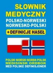 Słownik medyczny polsko-norweski norwesko-polski + definicje haseł