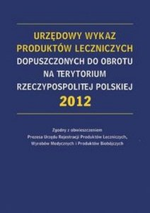 Urzędowy Wykaz Produktów Leczniczych Dopuszczonych do...