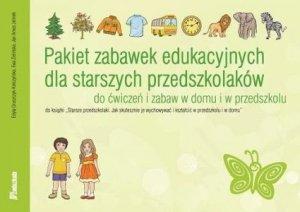 Pakiet zabawek edukacyjnych dla starszych przedszkolaków Do ćwiczeń i zabaw w domu i w przedszkolu