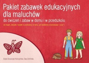 Pakiet zabawek edukacyjnych dla maluchów do ćwiczeń i zabaw w domu i w przedszkolu