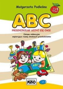 ABC przedszkolak uczyć się chce