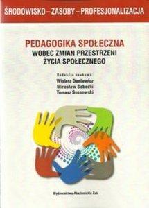 Pedagogika społeczna wobec zmian przestrzeni życia społecznego Środowisko - Zasoby - Profesjonalizacja