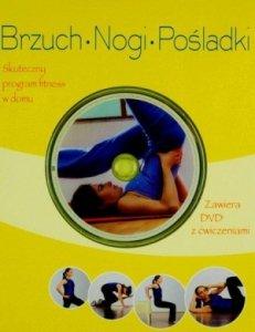 Brzuch nogi pośladki Książka fitness + DVD