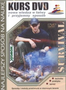 Kurs DVD Survival Sztuka przetrwania Technika Praktyka Sprzęt