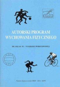 Autorski program wychowania fizycznego dla kl IV-VI szkoły podst