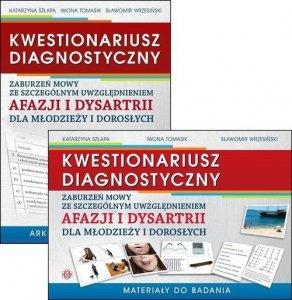 Kwestionariusz diagnostyczny zaburzeń mowy ze szczególnym uwzględnieniem afazji i dysartrii dla młodziezy i dorosłych