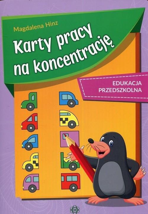 Karty pracy na koncentrację Edukacja przedszkolna