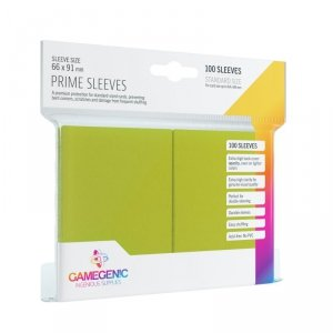 Gamegenic: Prime CCG Sleeves (66x91 mm) - Lime, 100 sztuk