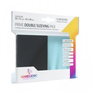 Gamegenic: Prime Double Sleeving Pack (66x91 mm/64x89 mm) 2x80 sztuk