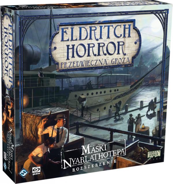 Eldritch Horror: Maski Nyarlathotepa (dodatek)