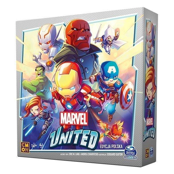 Marvel United (edycja polska) - zestaw z 4 dodatkami
