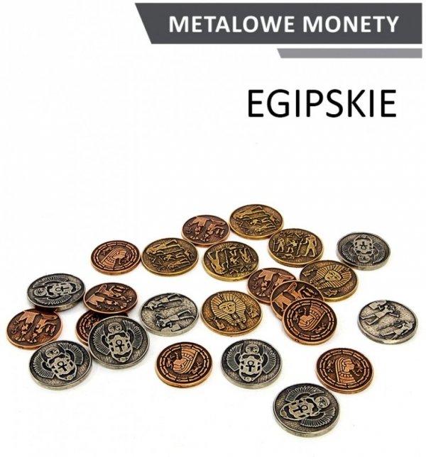 Metalowe Monety - Egipskie (zestaw 24 monet)