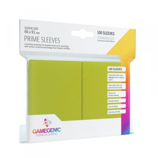 Gamegenic: Prime CCG Sleeves (66x91 mm) - Lime, 100 sztuk