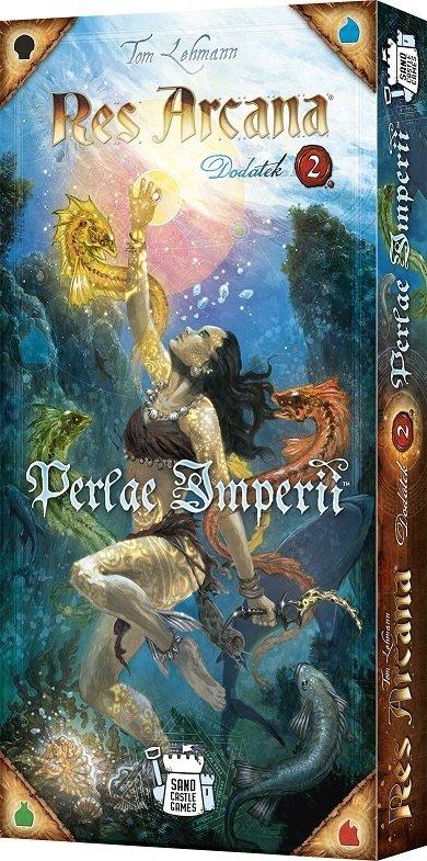 Res Arcana: Perlae Imperii (edycja polska) pudełko